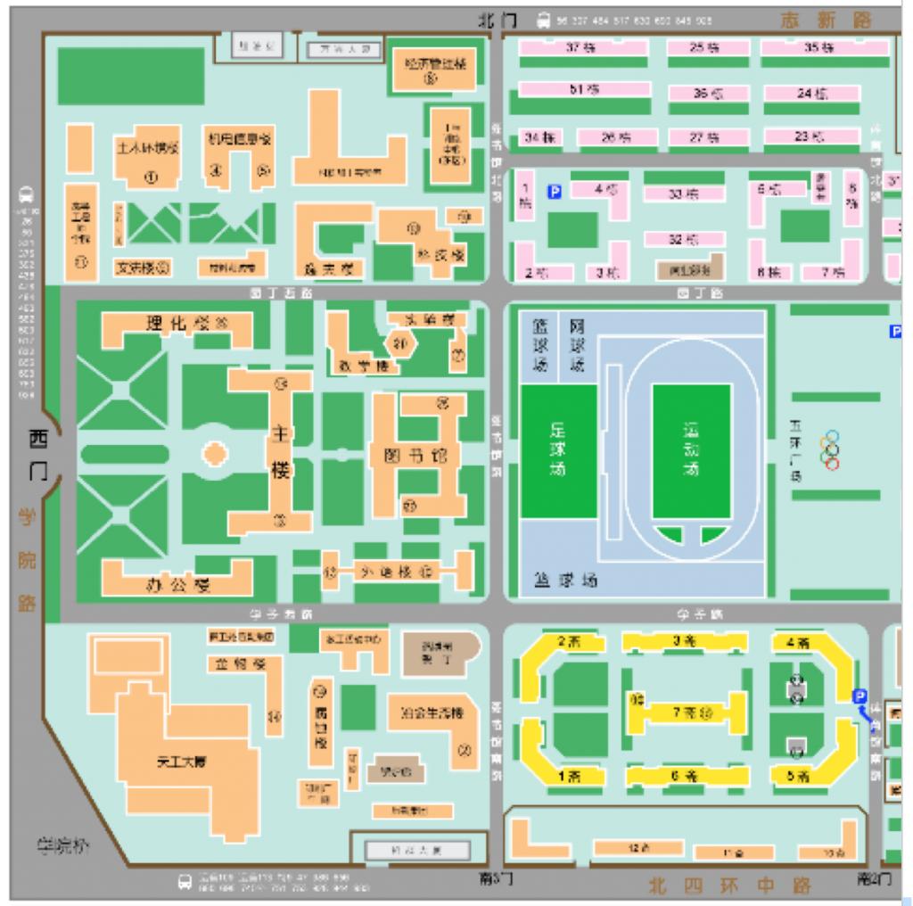 北京科技大学地図
